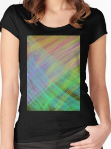 Color 1 Women's Fitted Scoop T-Shirt