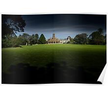 Werribee Mansion Poster