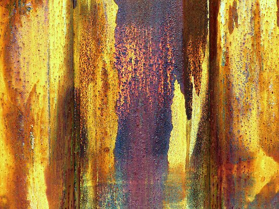 Colors of rust by Miron Abramovici