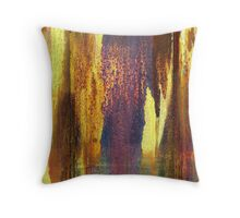Colors of rust Throw Pillow
