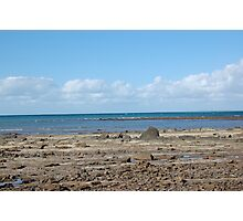 Beach, Hervey Bay Photographic Print