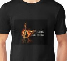 Richie Sambora On Fire Tee Shirt Unisex T-Shirt