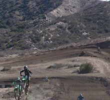 "Two Racers Over the Top @ Gorman, CA MX Racing Vet X Racing Series ""A little Close""?, (118 Views as of May 19, 2010) by leih2008"