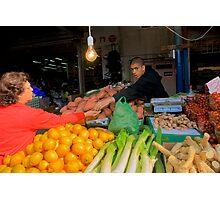 Carmel Market Photographic Print