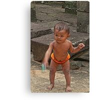 temple baby Canvas Print