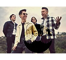 Arctic Monkeys AM Photographic Print