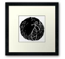 Circle Crown Framed Print