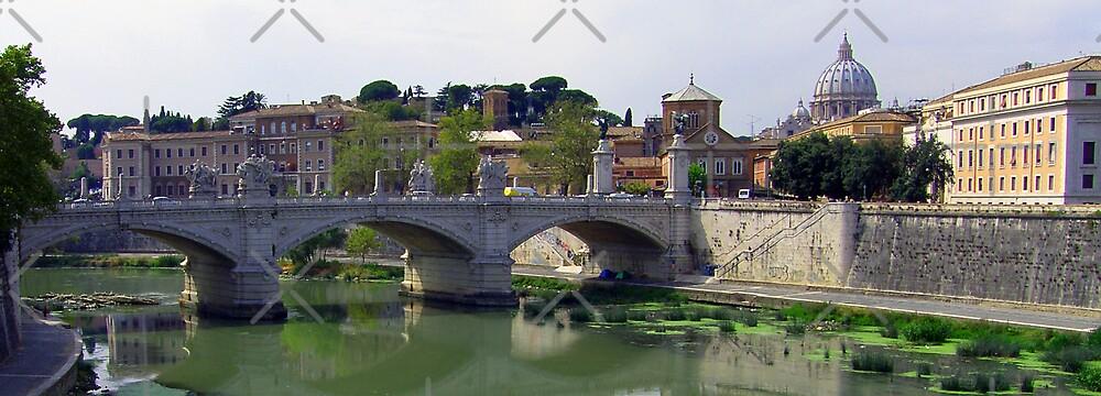 Ponte Vittorio Emanuele II by Tom Gomez