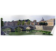 Ponte Vittorio Emanuele II Poster