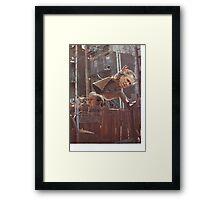Bush Stunt Double Doppelganger Framed Print