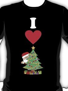 I Love Christmas T-Shirt