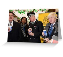 Sir Bernard Hogan-Howe Met police london Greeting Card