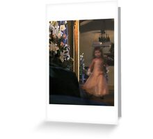 The Flower girl : photograph Greeting Card