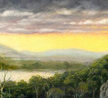 Galah Sunset by EnPassant