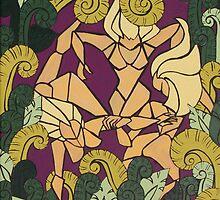 jungle catfight by Samantha Churchill