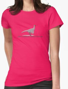 Pixel Ornithomimus Womens Fitted T-Shirt