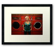 hot wash & tumble dry Framed Print
