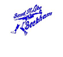 Bend It Like Beckham Photographic Print