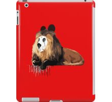 Pandelion - The Lion Who Wanted to be a Panda. iPad Case/Skin