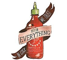 Sriracha Photographic Print