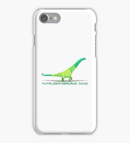 Pixel Futalognkosaurus iPhone Case/Skin