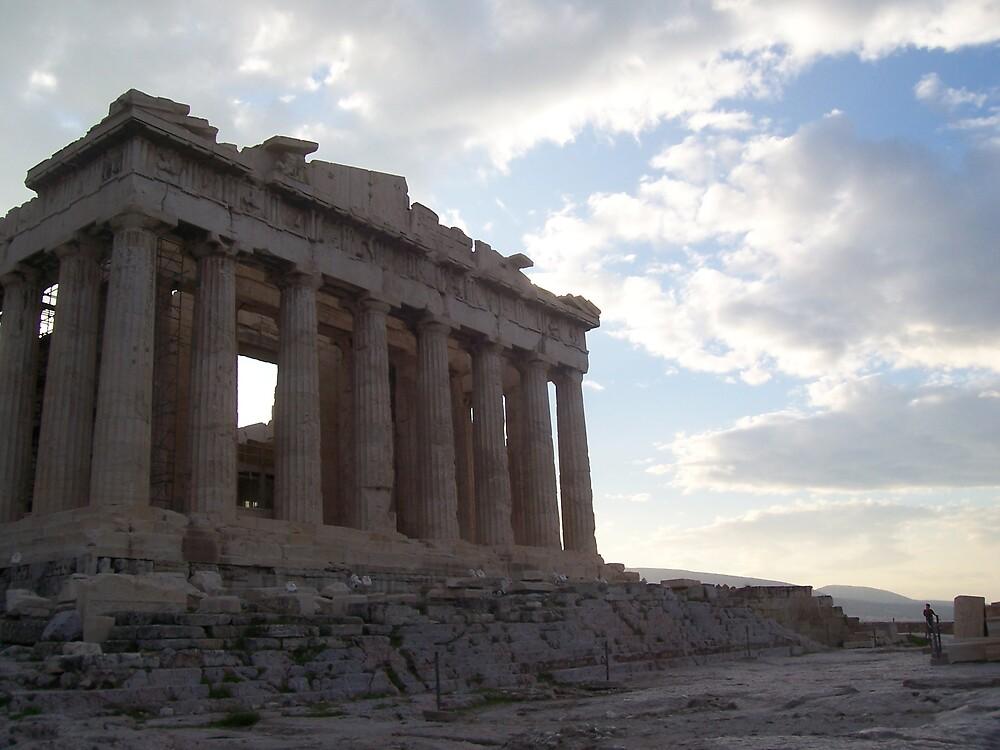 The Parthenon at Dawn by Calysar