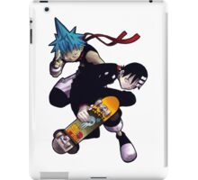 Soul Eater - Black Star & Death The Kid iPad Case/Skin