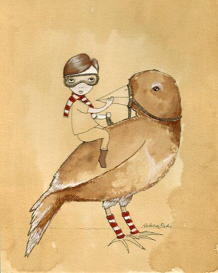 The littlest boy.. by Helena Babic