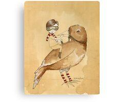 The littlest boy.. Canvas Print