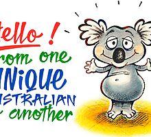 Cute Koala by EnPassant