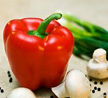 Red Pepper Splash by jeremysphotog