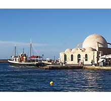 The Old Mosque in Chania, Crete Photographic Print
