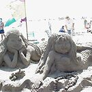 Sand Art - Mermaids Bolsa Chica State Beach, CA, 521 views 4-6-13) by leih2008