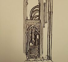 Canterbury Cathedral by Louisa Lynch