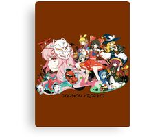 Touhou Project Canvas Print