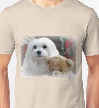 Snowdrop  the Maltee Unisex T-Shirt