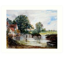Haywain Unplugged! Art Print