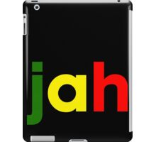 jah iPad Case/Skin