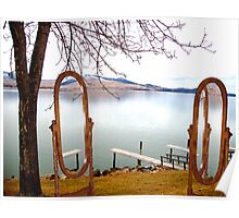 Lake Side Reflections II Poster