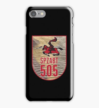 CHARGING KNIGHT iPhone Case/Skin