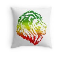 King of the Pride RASTA Throw Pillow
