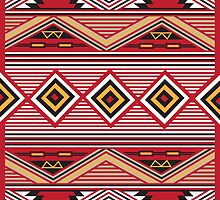 Native American Pattern No. 1 by BakmannArt