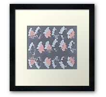 Merry trees pink! Framed Print