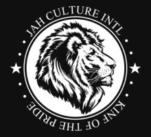 King of the Pride WHT Circle by JAHCultureINTL