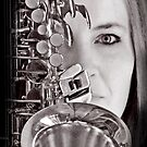 Sax Love Music Baby by Rhana Griffin