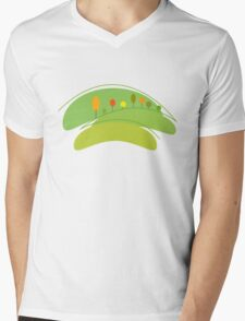 Eco Planet Mens V-Neck T-Shirt
