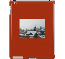 Christmas/Up on the roof tops iPad Case/Skin