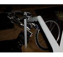 Uncommon Bike Rack Photographic Print