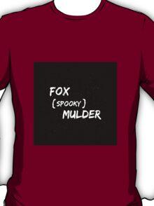Fox 'Spooky' Mulder T-Shirt