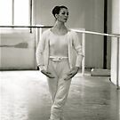 Carla Fracci rehearsing by Daniel Sorine